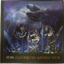 Rush ‎– Clockwork Angels Tour (Limited Deluxe Edition) Zoë Records ‎rare NEW