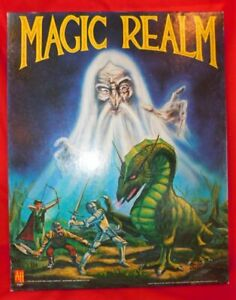 Vintage 1978 Avalon Hill MAGIC REALM Board Game w/ Legendary 2nd Edition Rules