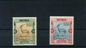 Briefmarken Italienisch-Eritrea 1934 */**