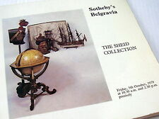 CATALOGUE~SOTHEBY~THE SHEID COLLECTION~AN IMPORTANT NAUTICAL COLLECTION~1979
