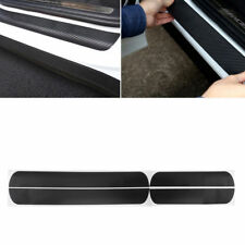 FORD FiESTA FOCUS RS ST CARBON FIBRE DOOR SILL SCUFF PROTECTION KIT COOL LOOK