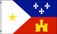 3x5 Acadiana Flag French Louisiana Banner Cajun Pennant Indoor Outdoor New