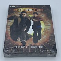 Doctor Who The Complete Third Series (Season 3, 6 DVD Set) NEW and SEALED BBC