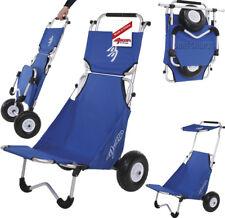 Beachbuggy Surfbuggy Transportwagen mit Sitz und Sonnendach Transporthilfe NEU