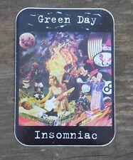 "Vintage Green Day Insomniac 2002 Rock Band Sticker 2.5"" x 3 3/4"" +"