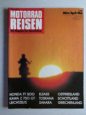 Magazin Tourenfahrer von Nitschkes Motorrad Reisen, 1.1983 - Tests und Reisen