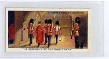 (Ja7661-100) Lambert & Butler,Interesting Customs,ceremony Of Kings Keys,1939#43