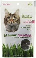 Bellrock Growers Pet Greens Semi-Moist Turkey and Duck Cat Treat New
