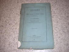 1868.anatomie systeme vasculaire cryptogames / Frémineau.envoi autographe.plante