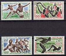 A667) Central African R.1964 Scott # 20/23 MNH Olympic Games 4v