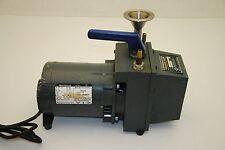 Westinghouse 317P-173 Motor w/ Buehler 10301 Vacuum Pump