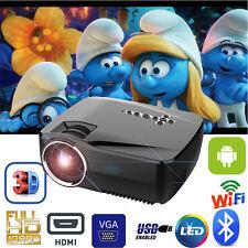 7000Lumens 1080P HD LED Projector Bluetooth+WiFi