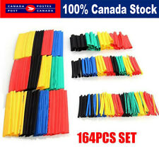 Heat Shrink Tubing 164 Pc Electric Insulation Tube Heat Shrink Wrap Cable Sleeve