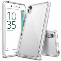 For Sony Xperia X | Ringke [FUSION] Clear PC Shockproof Protective Case Cover