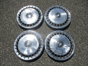 Factory 1985 to 1996 Buick Century 14 inch metal hubcaps wheel covers beaters
