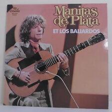 """33T Manitas DE PLATA & LOS BALIARDOS Disque LP 12"""" DE SANTANA Guitare VERSAILLES"""
