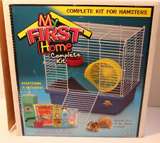 My First Hamster Cage comes with ladders, wheel & feeding dish