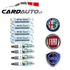 4 CANDELE ORIGINALI FIAT 55188857 ACCENSIONE PUNTO 188 1.2 1.4 1200 1400 8V 16V