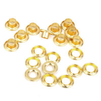 10x Copper Awning Tent Tarp Canopy Eyelets Grommets Install Repair Kit 8mm