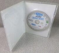 uDraw Studio Instant Artist Nintendo Wii Game PAL - No Book - Oz Seller