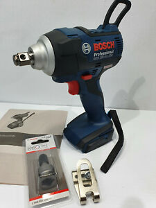 NEW! Bosch 18v Impact Wrench GDS 18V-EC250 + Adapter