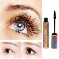 Starry Sky Mascara 4D Waterproof Silk Fiber Eyelash Thick Curling Natural V5T0
