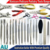 Nail Cuticle Spoon Pusher Nippers Clipper Cutter Manicure Professional Tools New
