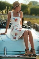 Anthropologie Ingalls Tie Waist Dress UK 16 US 12 EU 44 RRP £128.00