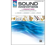 Alfred Publishing Co. 0034533 Sound Innovations Book 1 - Alto Sax