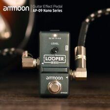 AMMOON AP-09 Loop Pedal, Electric Guitar Effect Pedal Looper True Bypass