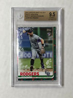 BRENDAN RODGERS 2019 Topps PRESENT UNDER ARM SP RC! BGS 9.5 GEM MINT! Holiday SP