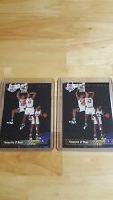 1992-1993 Upper Deck Shaquille Oneal Rookie Trade Card 1b Lot of 2