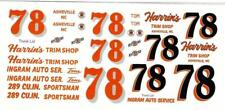 Plastic Performance Products #78 Harrin's Trim Shop Tom Ingram 56 Ford decal