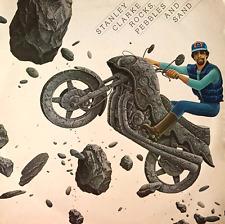 STANLEY CLARKE - Rocks, Pebbles And Sand (LP) (VG/VG-)