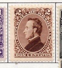Honduras 1878 Early Issue Fine Mint Hinged 2c. 175687