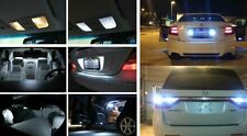Fits 2007-2012 Toyota Camry Reverse White Interior LED Lights Package Kit 18pc