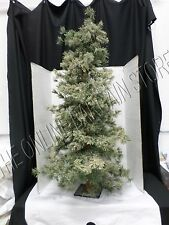 Christmas Holiday Snow Frosted Tree Decor Decorating Display Artificial 4'