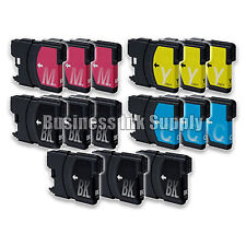 15PK New LC61 Ink Cartridge for Brother MFC-495CW MFC-J410W MFC-295CN LC61 LC-61