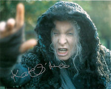 KATE O'MARA THE RANI DOCTOR WHO SIGNED AUTOGRAPH 6 x 4 INCH VINTAGE PRE PRINT