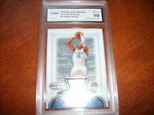 Carmelo Anthony GRADED JERSEY Insert Card! Gem Mint 10! 2006/07 Bowman Sterling