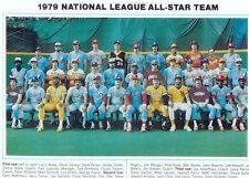 1979 ALL STAR TEAM NATIONAL LEAGUE 8X10 PHOTO MORGAN BOONE CEY CARTER BASEBALL
