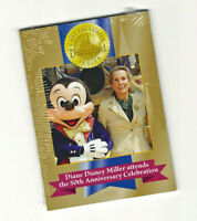 Disneyland Cast Exclusive 5-Card 50th Anniversary Trading Card Set Sealed
