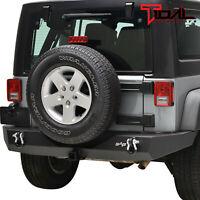 Tidal Full Width Rear Bumper Guard Offroad Fit for 07-18 Jeep Wrangler JK