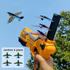 Airplane Launcher Airplane Toys for Kids plane Catapult Gun Shooting Outdoor Toy