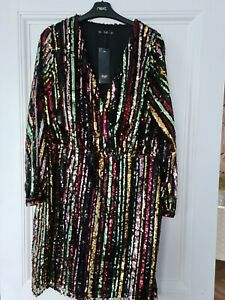 Sequin Party Dress Size 18