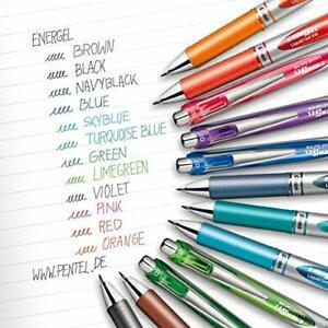 Pentel EnerGel XM BL77 Rollerball 0.7mm - Retractable Gel Ink Pen - 12 Options