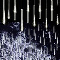 Solar Powered Meteor Shower String Lights/Outdoor Waterproof Xmas Decor Lights