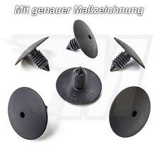 20x Radlauf Tannenbaum Clip Citroen Peugeot Renault | 35,5 mm x 25,4 mm