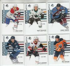 2019-20 SP AUTHENTIC FUTURE WATCH /999 6 RC CARD LOT