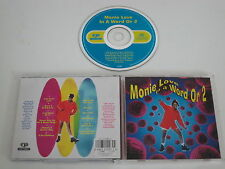 MONIE LOVE/IN A WORLD OR 2(COOLTEMPO 0946 3 21993 2 4) CD ALBUM